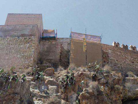 Consolidación Muro Norte Alcazaba Almería