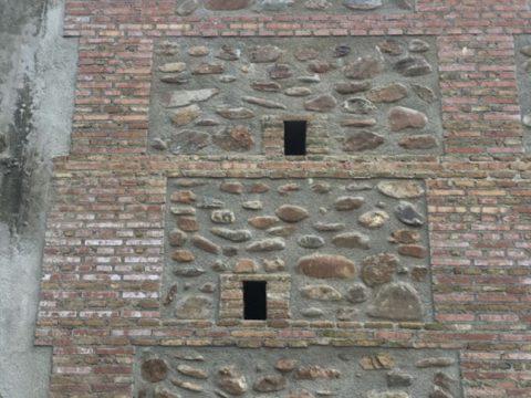 Mur de détail Alcazaba de Almera