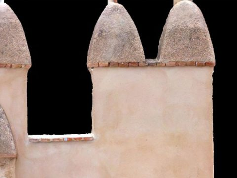 Detalle Alcazaba de Almería