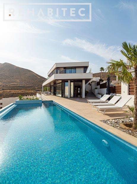 Vivienda alto standing piscina